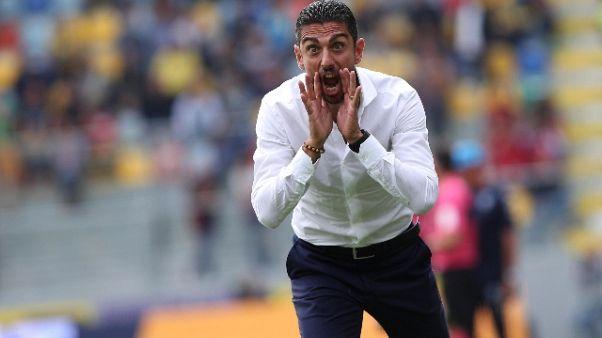 "Frosinone, Longo ""ora 3 punti in casa"""