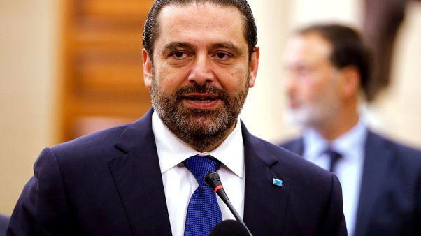 Lebanon's Hezbollah says Hariri must resolve government row