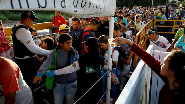 Venezuelan migrant exodus hits 3 million - U.N.