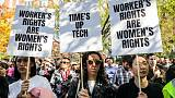 Google hears protesters, changes sexual harassment policies