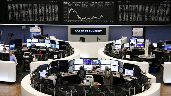 أسهم أوروبا تغلق متباينة مع تلاشي اتجاه صعودي في أعقاب الانتخابات النصفية في أمريكا