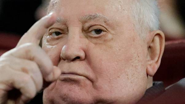 Frail Mikhail Gorbachev warns against return to the Cold War