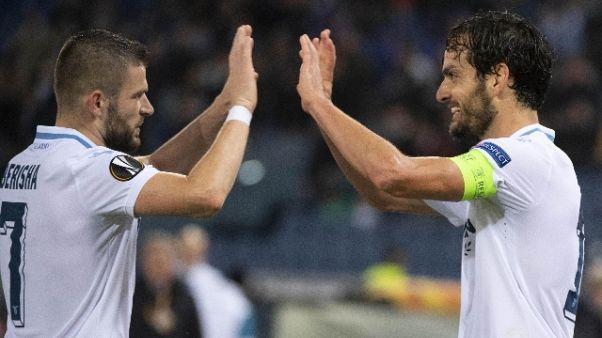 E.League: 2-1 al Marsiglia,Lazio ai 16/i