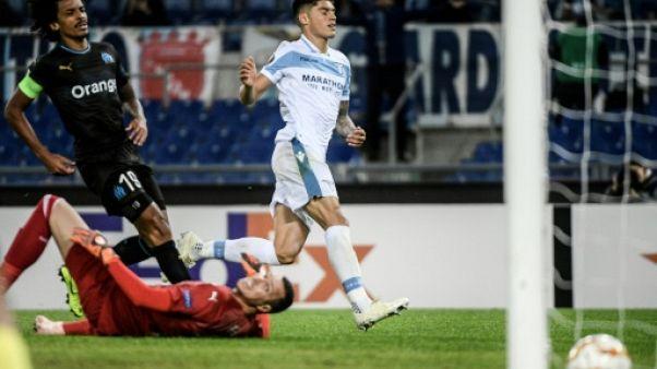 Ligue Europa: battu par la Lazio Rome 2-1, Marseille déjà éliminé