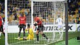 Ligue Europa: Rennes sombre à Kiev, ses espoirs avec