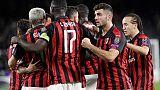 Europa League: Betis-Milan 1-1