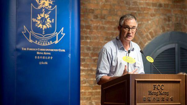Hong Kong bars British editor from entering city following visa ban