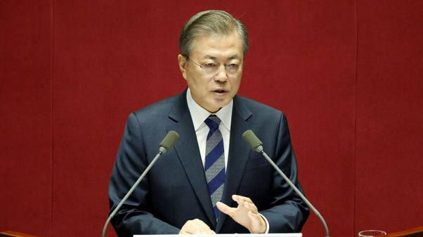South Korea's Moon sacks economic policy chiefs, replaces with insiders
