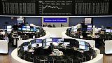 European shares dip as Fed saps post U.S. midterms rally