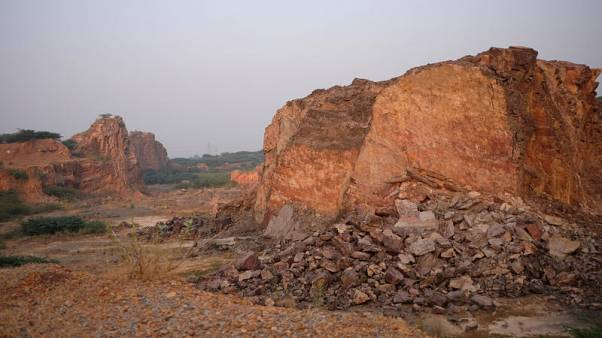 Miners gouge hills near Indian capital ending protection, compounding pollution