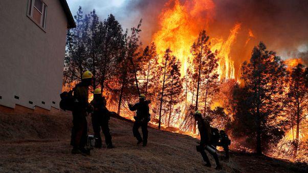 مقتل 5 في حرائق غابات كاليفورنيا وإخلاء ماليبو