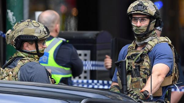 Melbourne stabber drove car loaded with gas cylinders - police