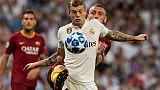 Ranking Uefa, Juve quinta, guida il Real