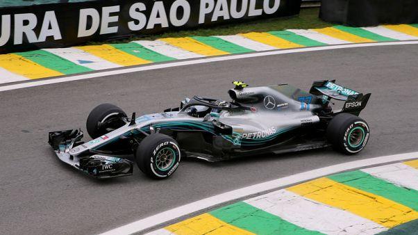 بوتاس الأسرع في تجارب سباق البرازيل