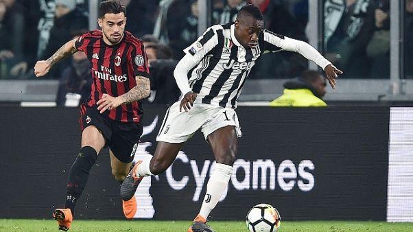 Milan-Juve: record incasso per rossoneri