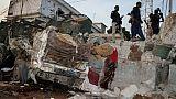 Après l'explosion de voitures piégées dans Mogadiscio, 9 novembre 2018