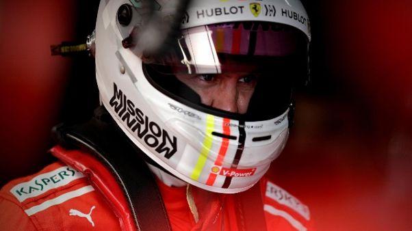 """F1: Vettel, """"oggi bene, vediamo in gara"""""""
