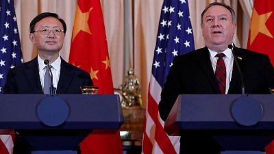 In high-level talks, U.S. presses China to halt militarization of South China Sea