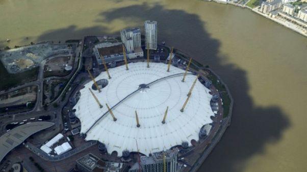 Le stade O2 de Londres où est organisé le Masters de l'ATP depuis 2009
