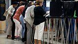Des électeurs votent à Miami, en Floride, le 6 novembre 2018