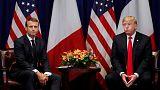 Trump, Macron may clash on European defence in Paris talks