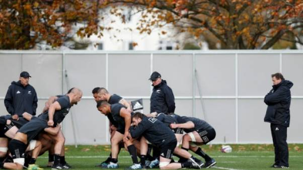 Angleterre: les All Blacks au pire moment