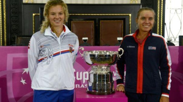 Finale Fed Cup: la République tchèque et les Etats-Unis sans leurs stars