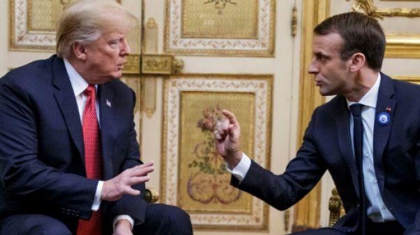 Macron et Trump jouent l'apaisement sur la défense européenne