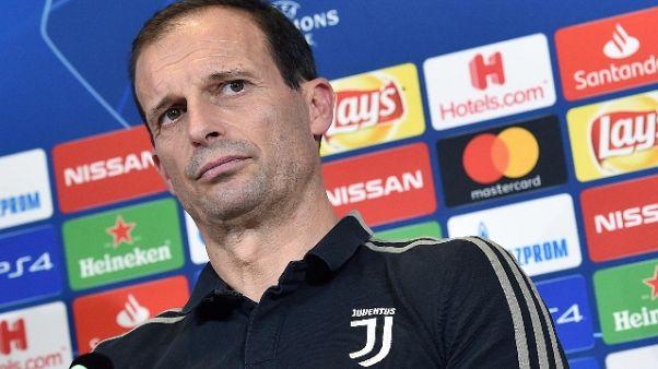 Juve: Allegri, Gattuso bravo al Milan