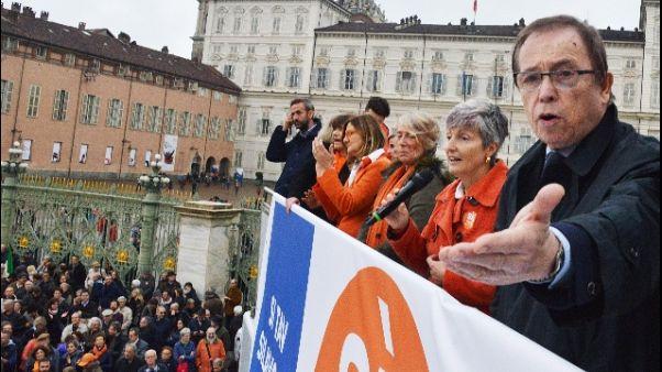 Sì Tav a Torino,in 30mila per il futuro