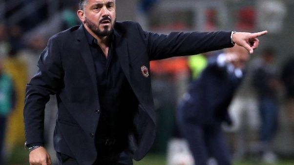Gattuso: Milan a testa alta contro Juve