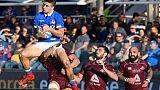 Rugby: test match, Italia-Georgia 28-17