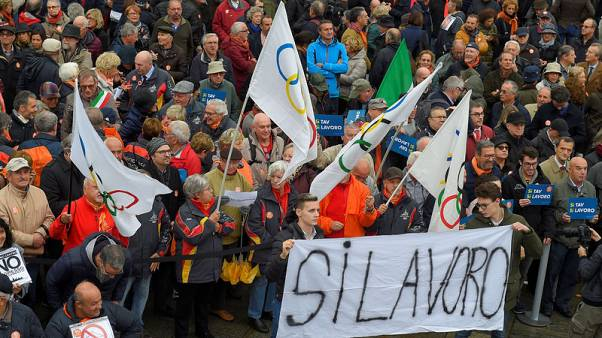 Thousands rally in Turin in favour of Italy-France rail link