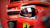 F1: Vettel, perso tempo per bloccaggio