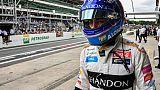 L'Espagnol Fernando Alonso lors du GP du Brésil de F1 le 10 novembre 2018