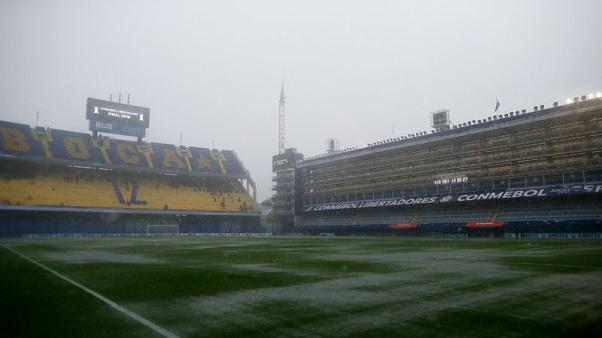 First leg of final of Copa Libertadores in Buenos Aires postponed due to rain
