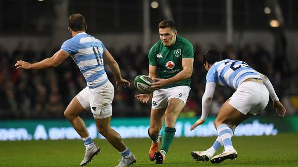 Sloppy Ireland see off Argentina as O'Brien is injured