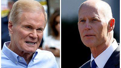 ولاية فلوريدا تأمر بإعادة فرز الأصوات في السباق على مقعد مجلس الشيوخ ومنصب حاكم الولاية