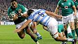 Rugby: l'Irlande domine l'Argentine, futur adversaire des Bleus