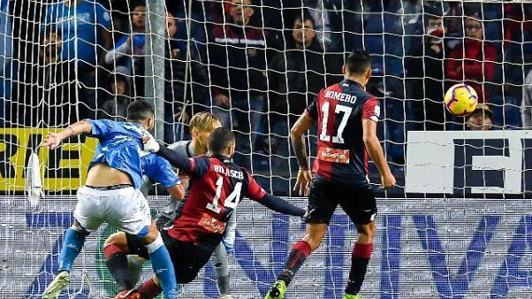 Serie A: Genoa-Napoli 1-2