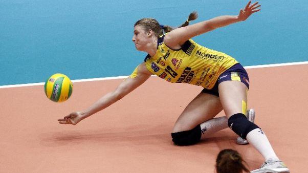 Volley:Conegliano vince Supercoppa donne