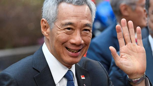 Singapore PM Lee hints at early election next year