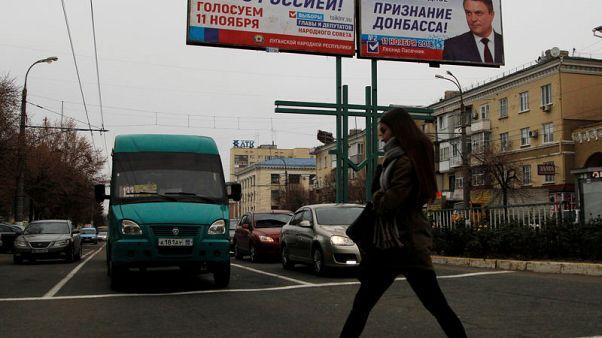 Separatist-held regions hold elections in eastern Ukraine