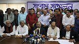 تحالف أحزاب معارضة في بنجلادش يقرر خوض الانتخابات