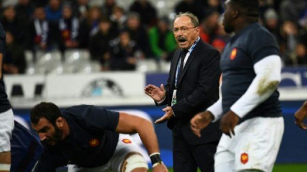 """XV de France: Jacques Brunel est """"très énervé"""""""