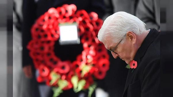 Le président allemand commémore la Grande Guerre à Londres