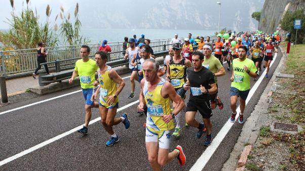 Garda Half Marathon,1/o keniano Simukeka