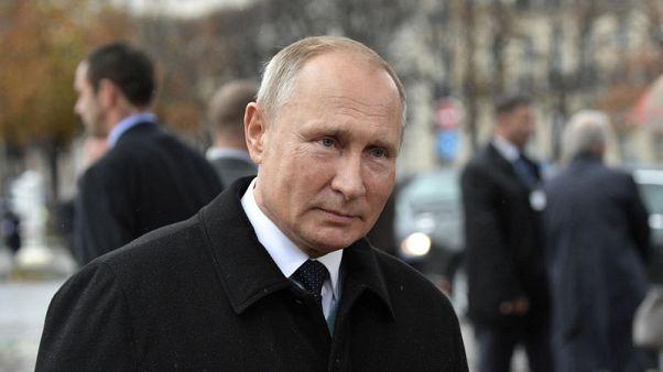 وكالات نقلا عن بوتين: نريد إجراء حوار مع أمريكا حول معاهدة القوى النووية