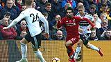 Angleterre: Liverpool bat Fulham et prend provisoirement la tête