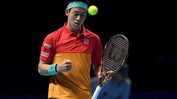 Federer falls flat against Nishikori, Anderson off to flyer